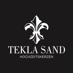 Tekla Sand Hochzeitskerzen Logo
